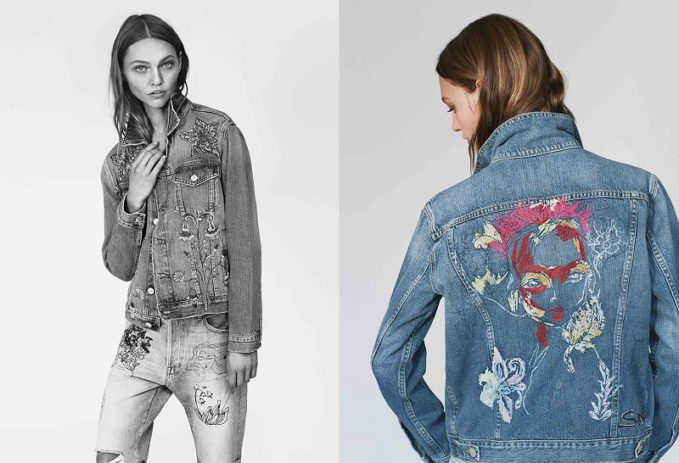 FRAME Sasha P Le Original Jeans in Bushwick-