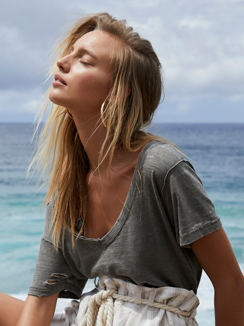 Free People We The Free Surfs Up Tee