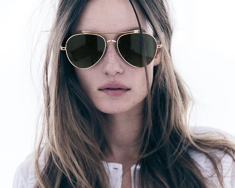 Lyst - Céline Tilda Sunglasses in Black