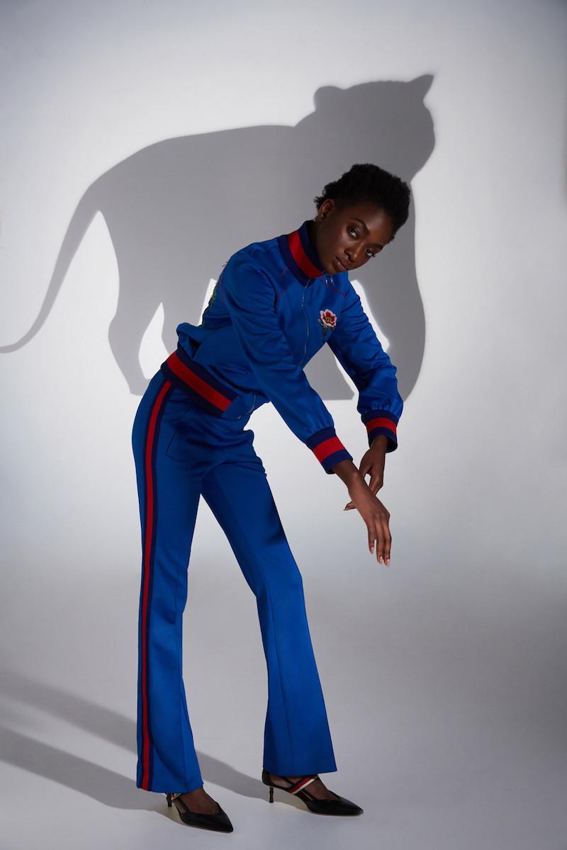 Gucci Blue Jogging Pants