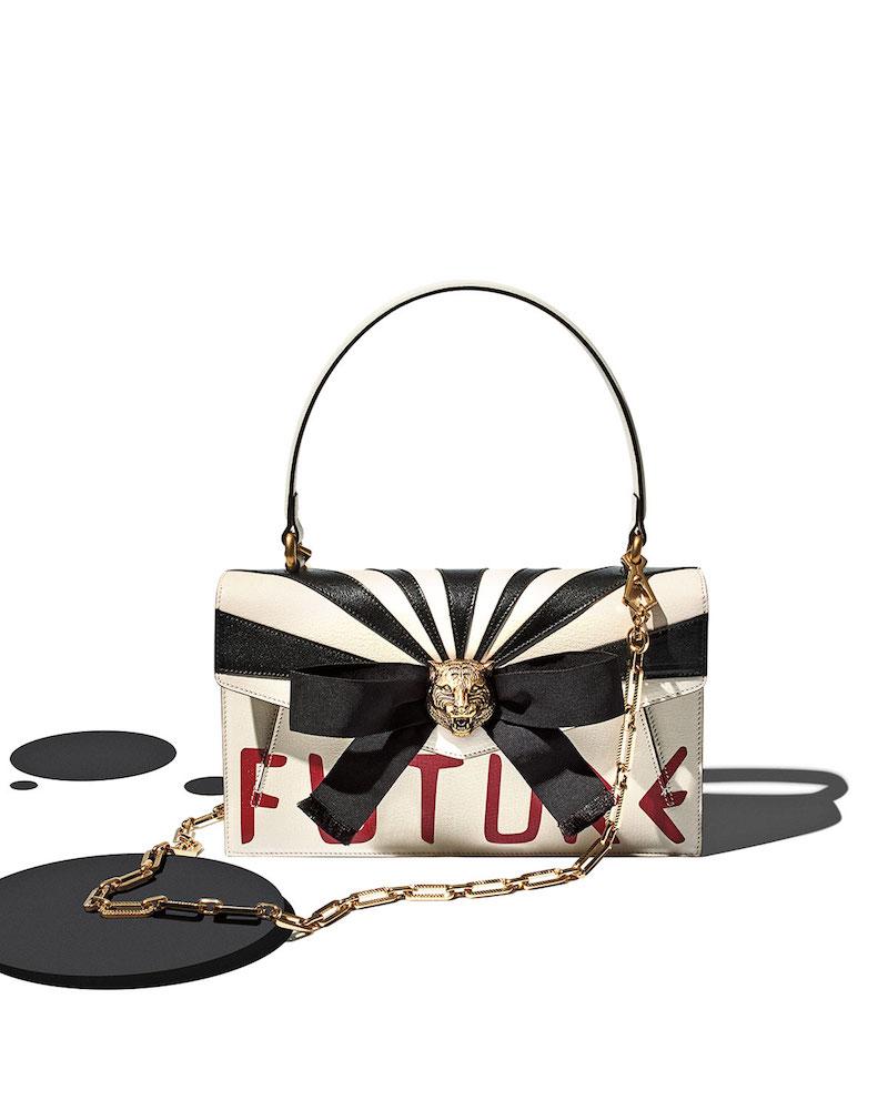 Gucci Future Bow Top-Handle Bag