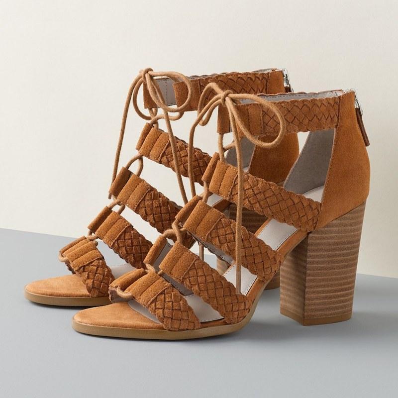 Hinge Desi Block Heel Sandal