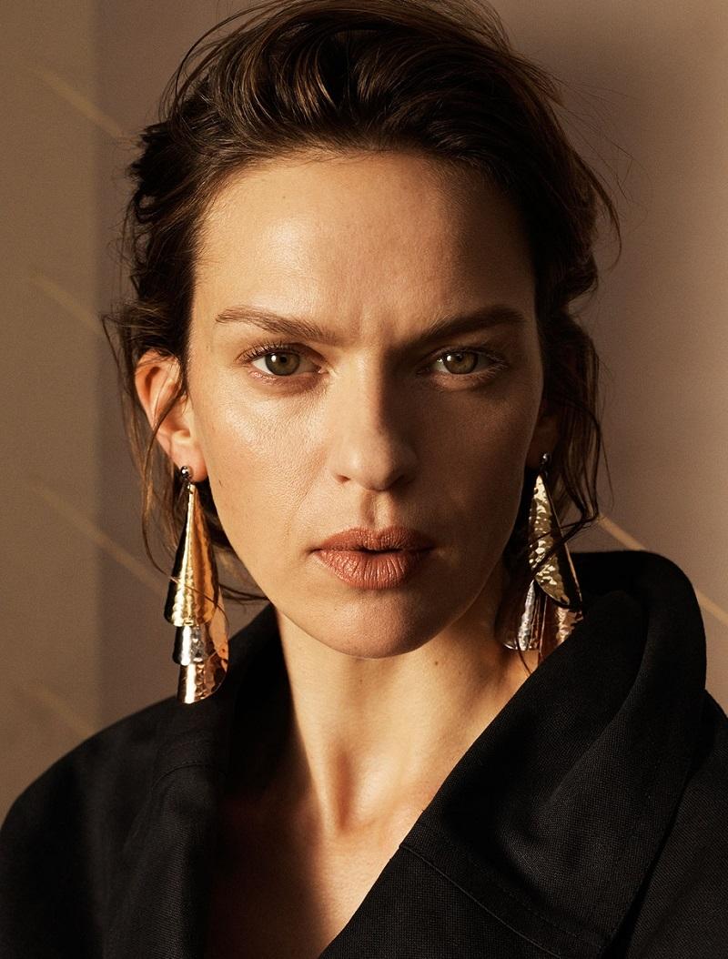 Isabel Marant Ilona tie-waist cotton and linen-blend coat