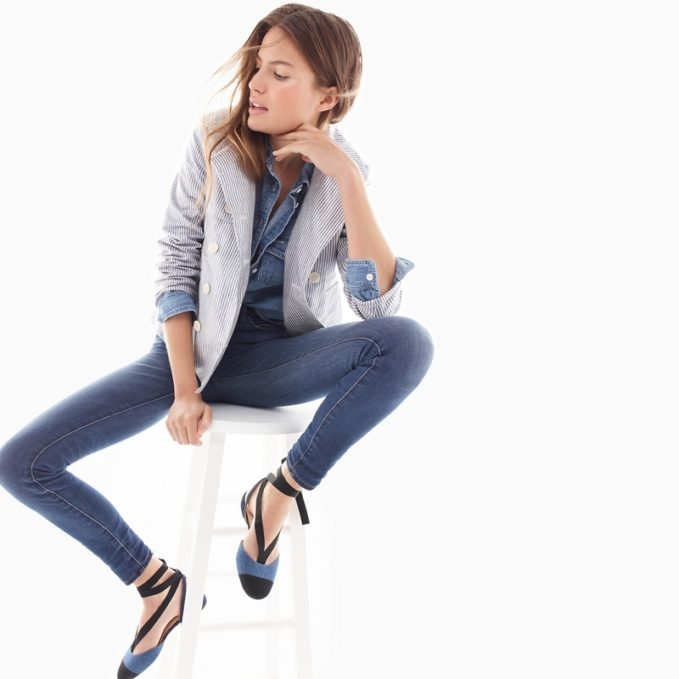 J.Crew Lookout High-Rise Jean In Meyer Wash