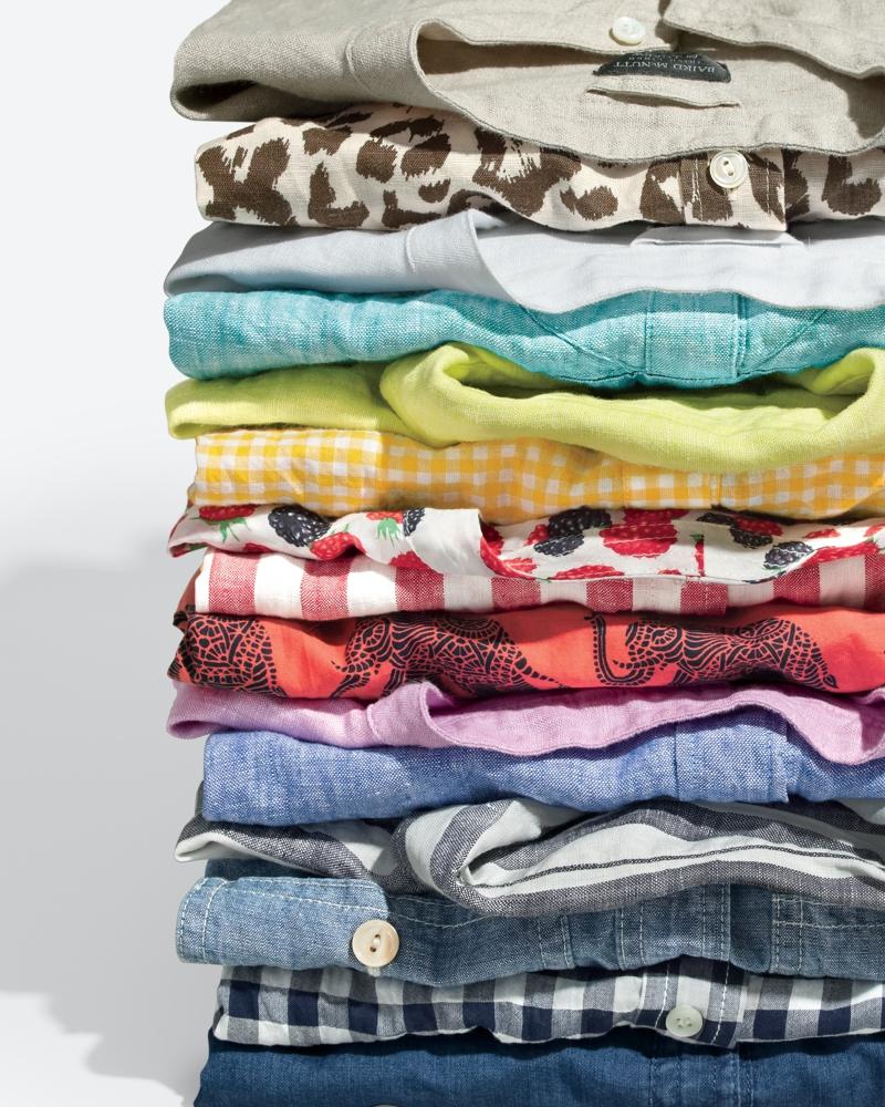 J.Crew Popover Shirt In Irish Linen