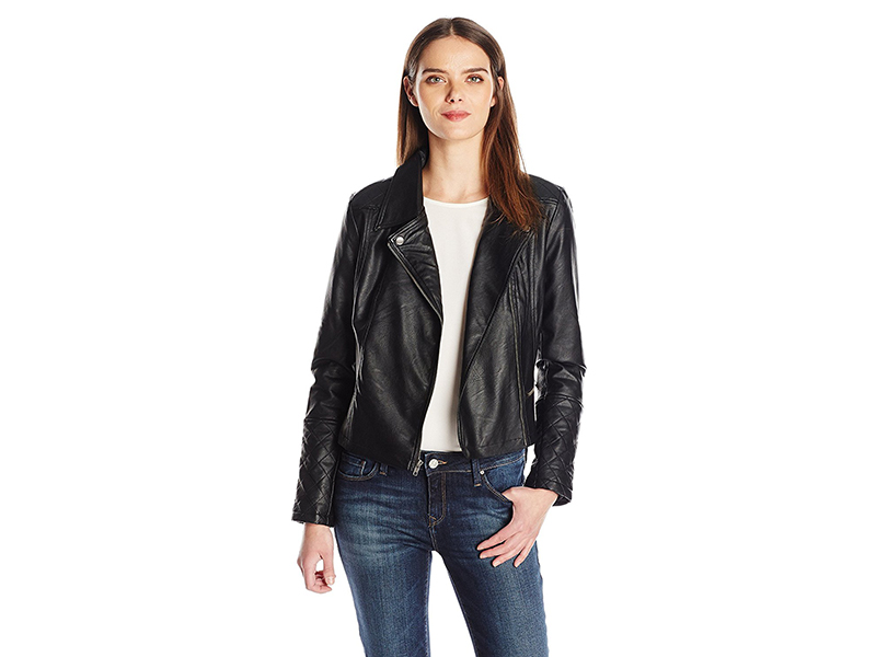 Jack by BB Dakota Tumbled Pu Moto Jacket