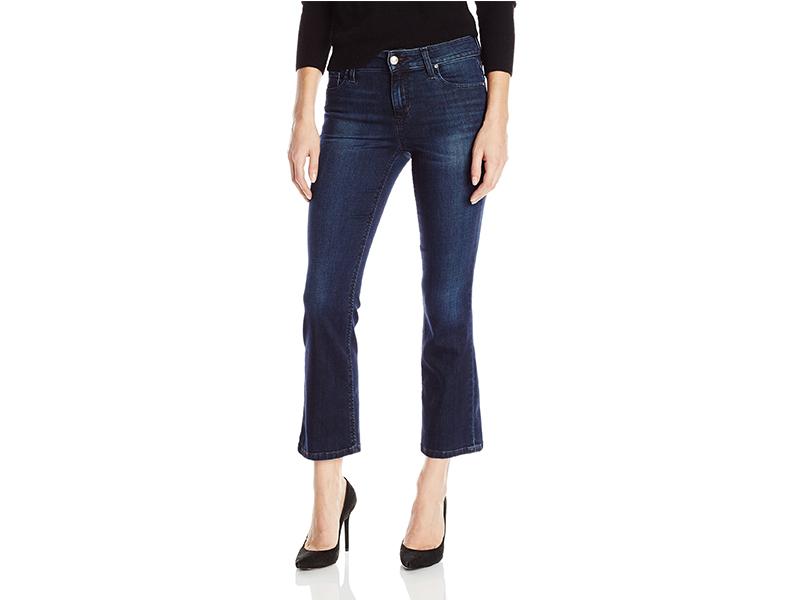 Joe's Jeans Flawless Olivia Midrise Cropped Flare Jean in Joslyn