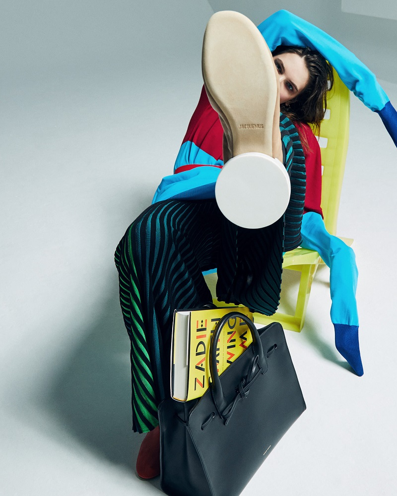 Kenzo Multicolor Flared Trousers