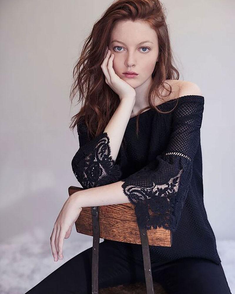 Kobi Halperin Riley Off-the-Shoulder Textured Silk Blouse