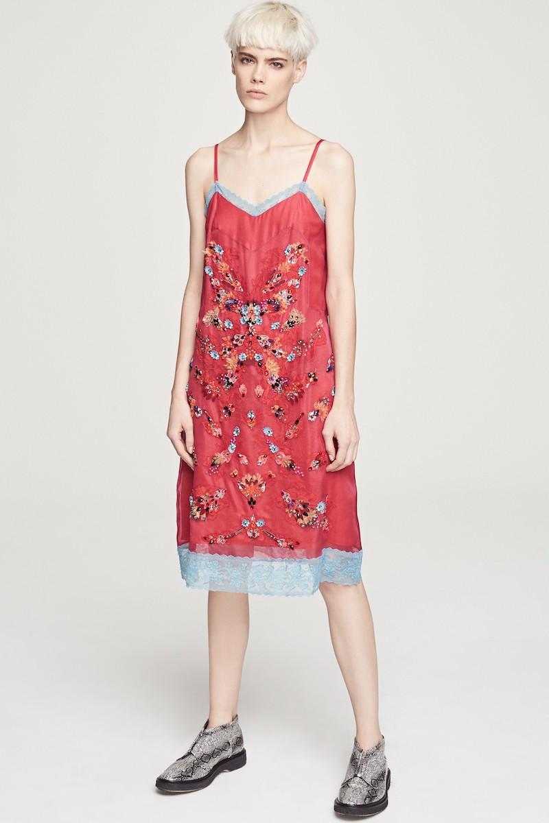 Koché Embellished Slipdress