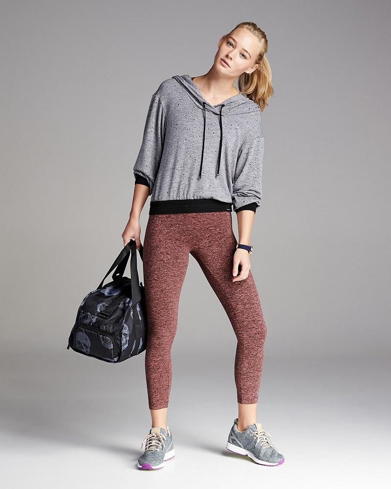 Koral Activewear Arch Athletic Pullover Hoodie