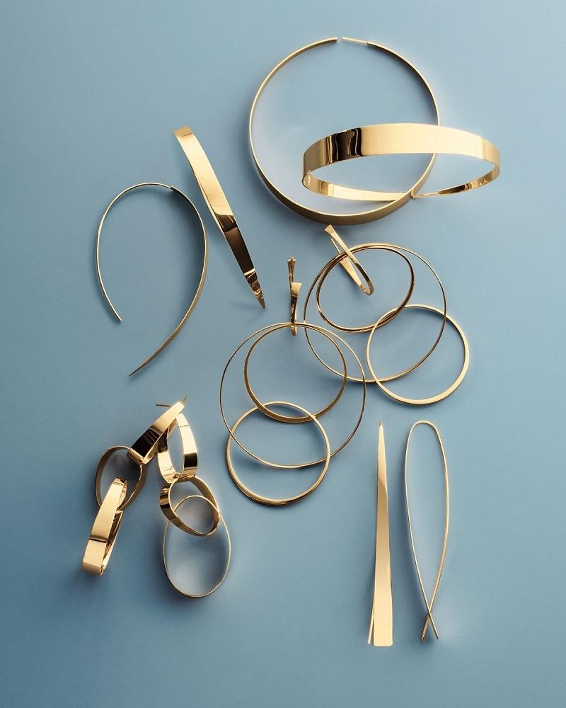 Lana Bond Large Gloss Link Drop Earrings