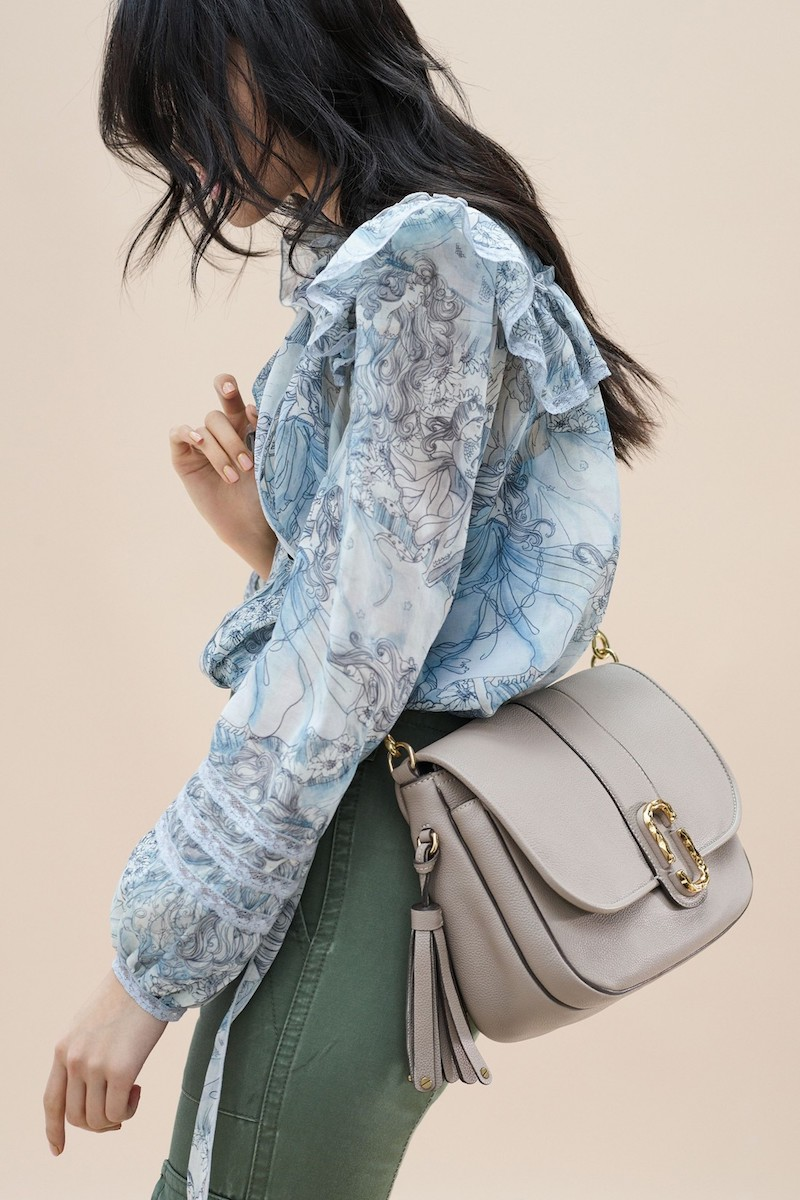 MARC JACOBS Interlock Leather Crossbody Bag
