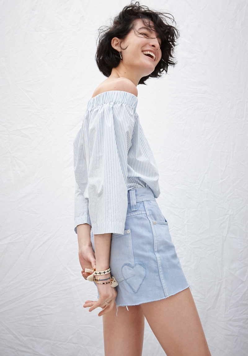 Madewell x Where I Was From High-Rise Jean Shorts