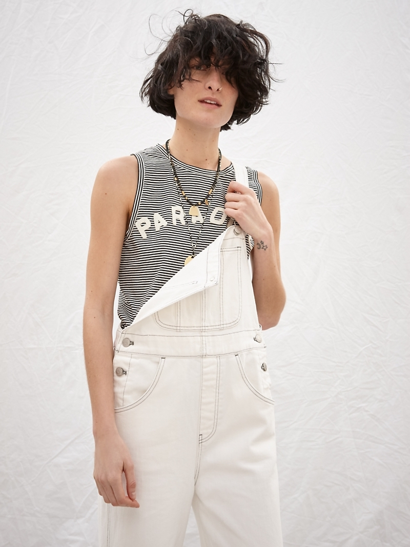 Madewell x Where I Was From Paradise Striped Tank