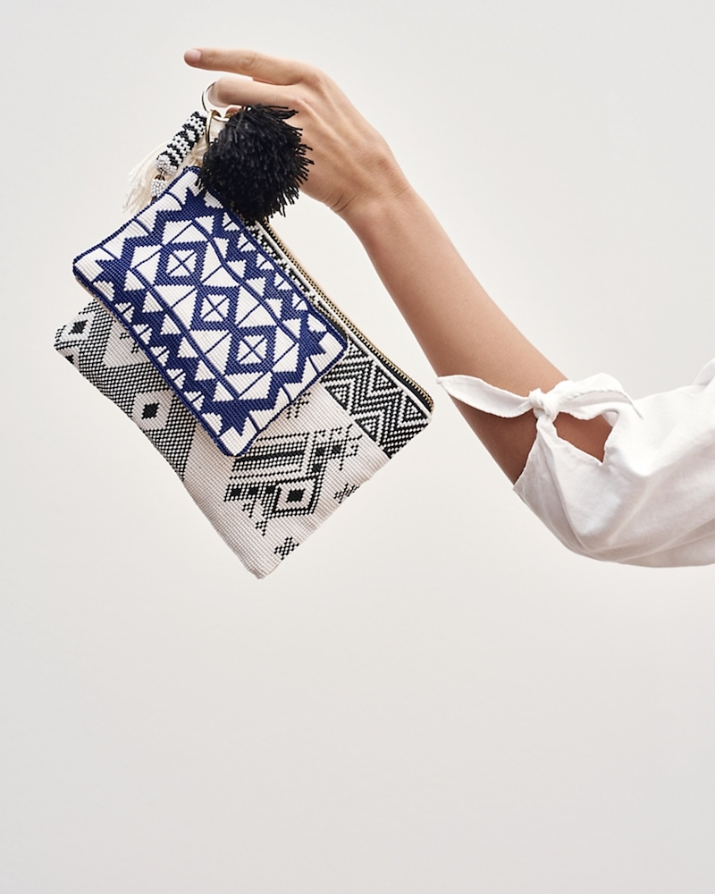 Madewell x Meso Goods Small Beaded Pouch