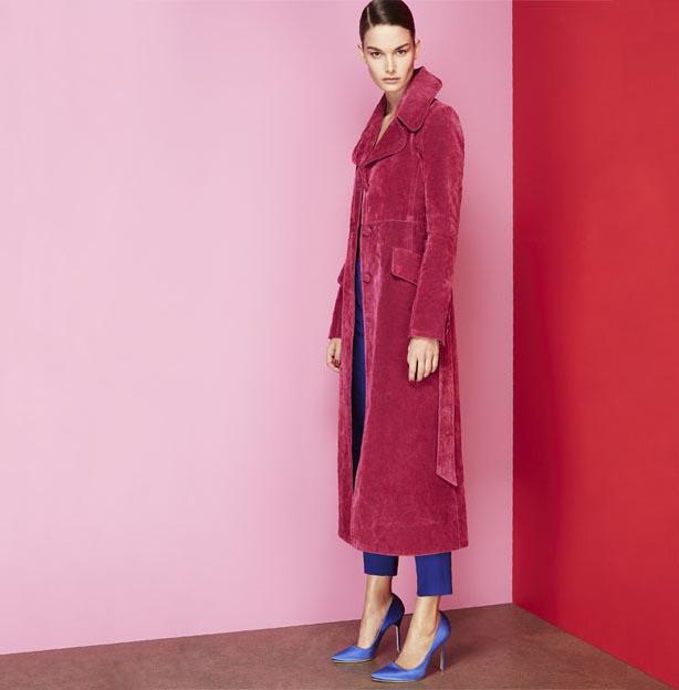 Marc Jacobs Cotton-blend velvet coat