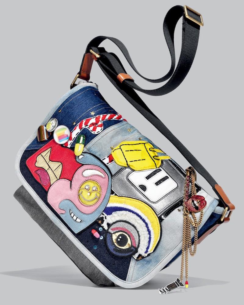 Marc Jacobs Julie Denim Messenger Bag