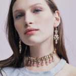 Marchesa Sheer Bliss Cluster Drop Earrings