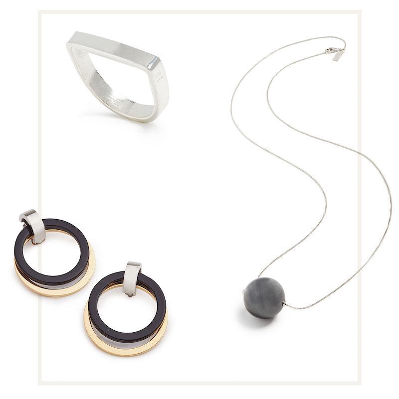 Marni Metal Clip On Earrings