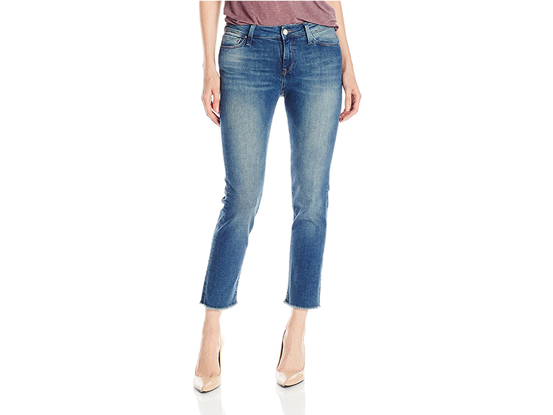 Mavi Kerry Ankle Shaded Ripped Vintage Jean
