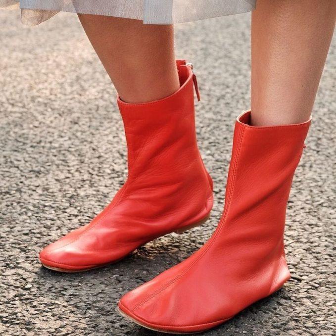 Molly Goddard x Topshop Calf Boots