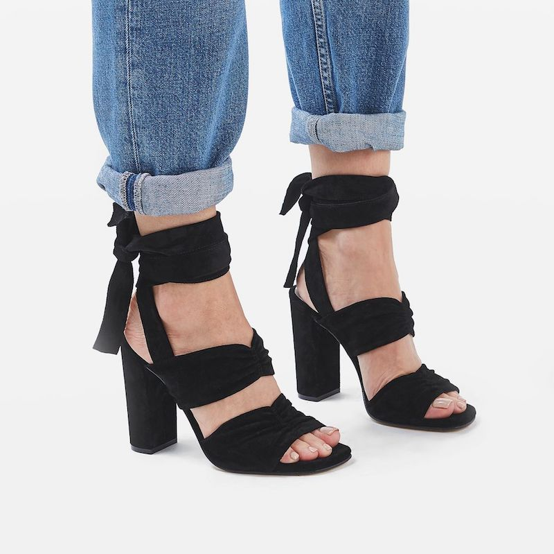 Molly Goddard x Topshop High Sandals