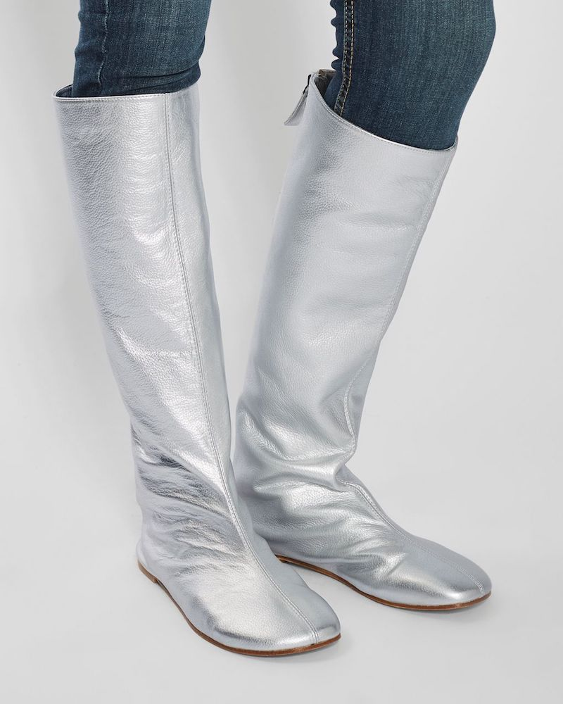 Molly Goddard x Topshop Knee Boots
