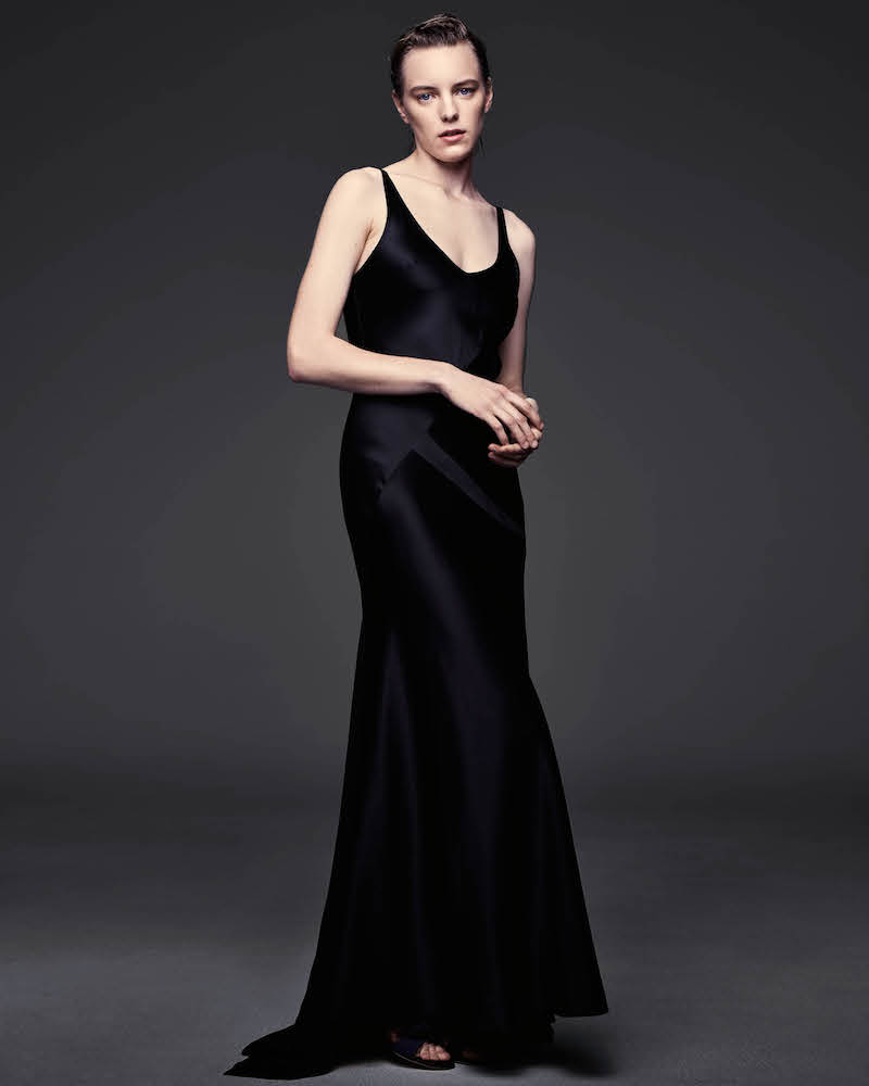 Narciso Rodriguez Silk Satin Gown
