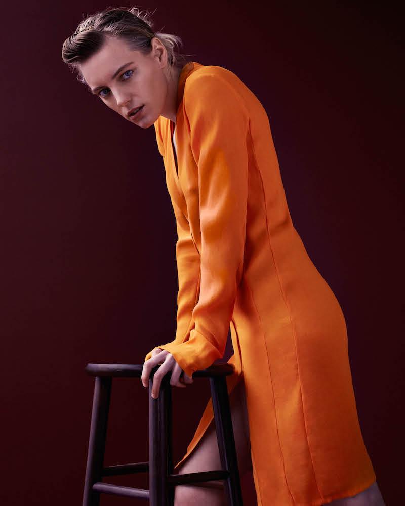 Narciso Rodriguez Snap-Front Sheath Dress