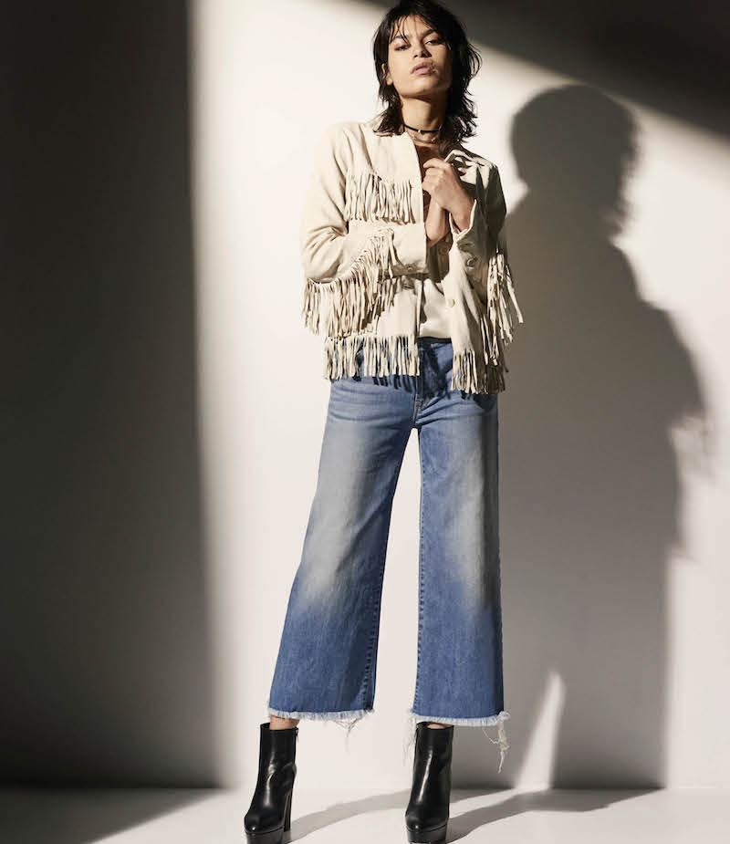 Nili Lotan Frida Fringed Leather Jacket