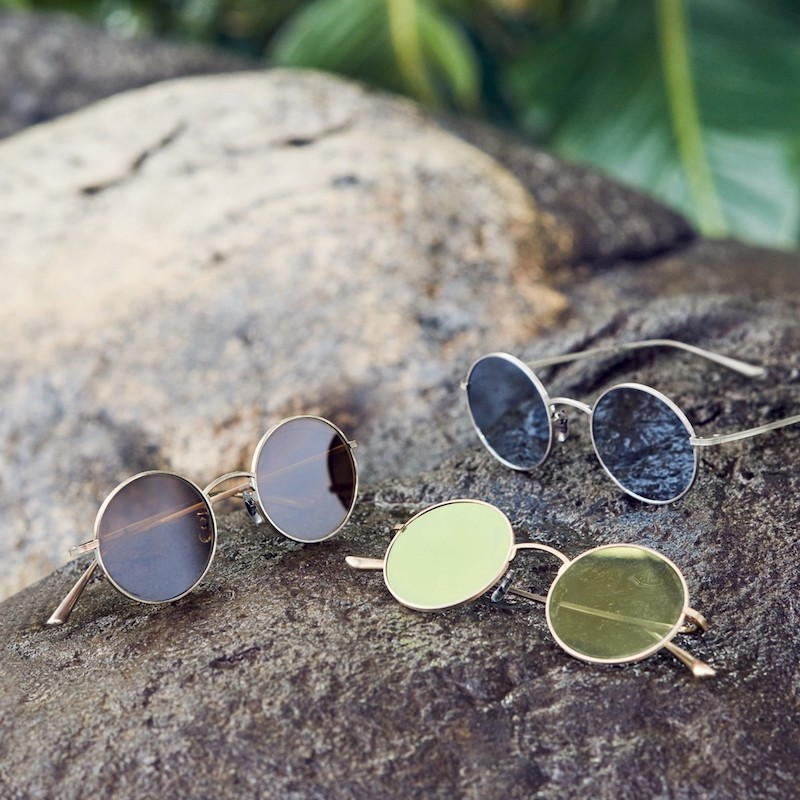 Oliver Peoples The Row For Oliver Peoples After Midnight 49MM Round Sunglasses