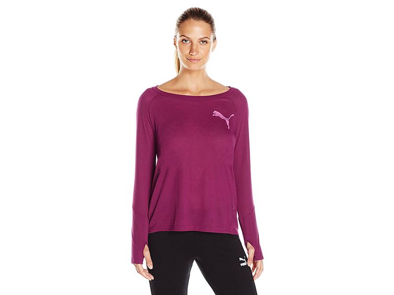 PUMA Elevated Long Sleeve Shirt