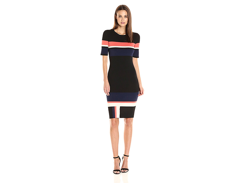 Rachel Rachel Roy Mixed Stripe Dress