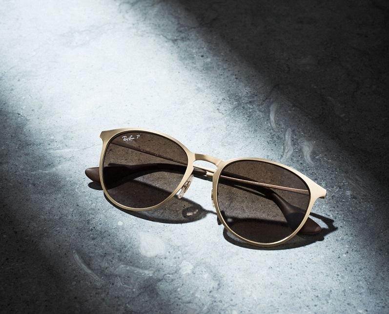 Ray-Ban Erika Rounded Square Polarized Sunglasses