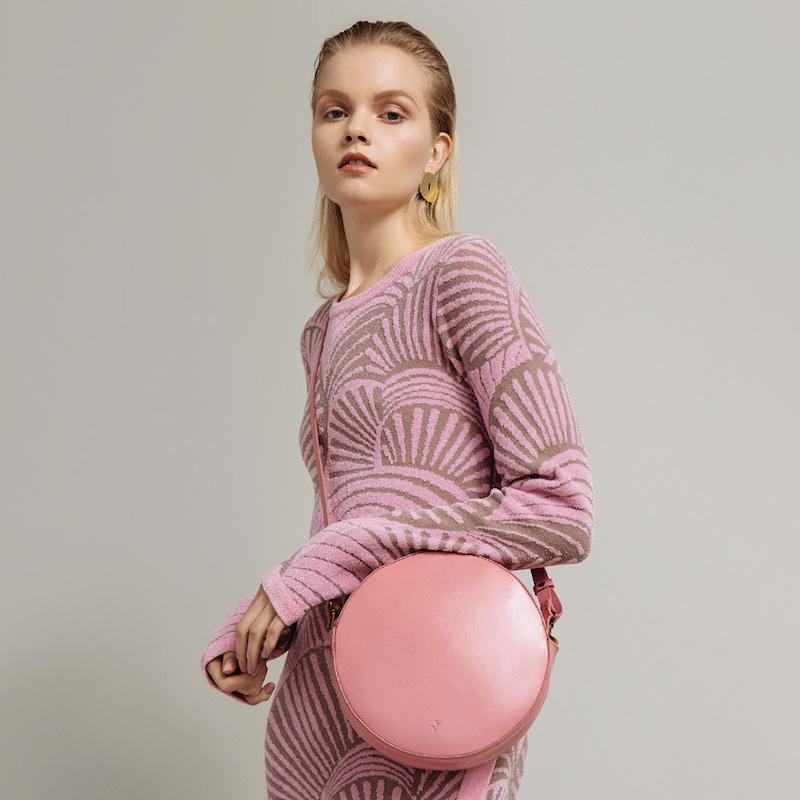 Rodebjer Sachs Dress in Bubblegum