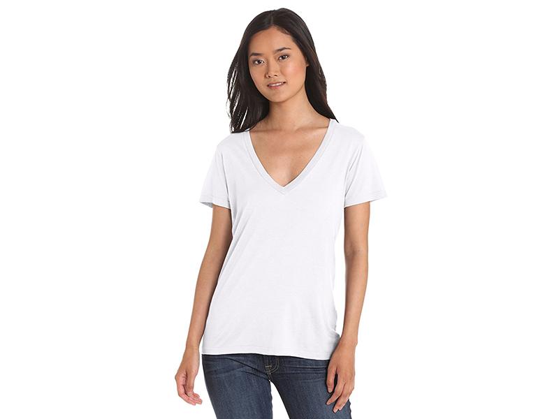 Splendid Jersey Short-Sleeve V-Neck T-Shirt