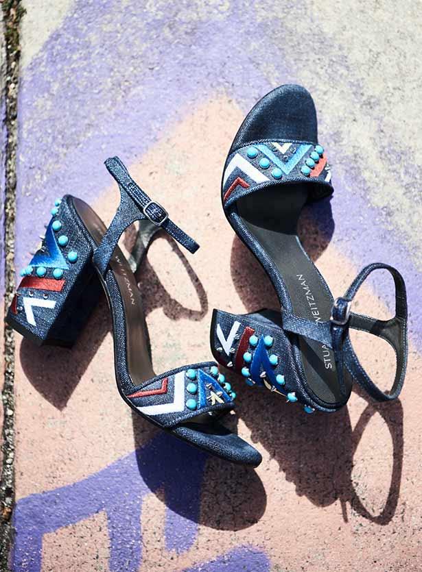 Stuart Weitzman Both Embellished City Sandal 1