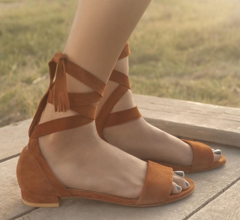 Stuart Weitzman Corbata Sandal