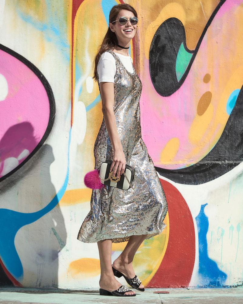 Stuart Weitzman Decorslide Embellished Velvet Sandal