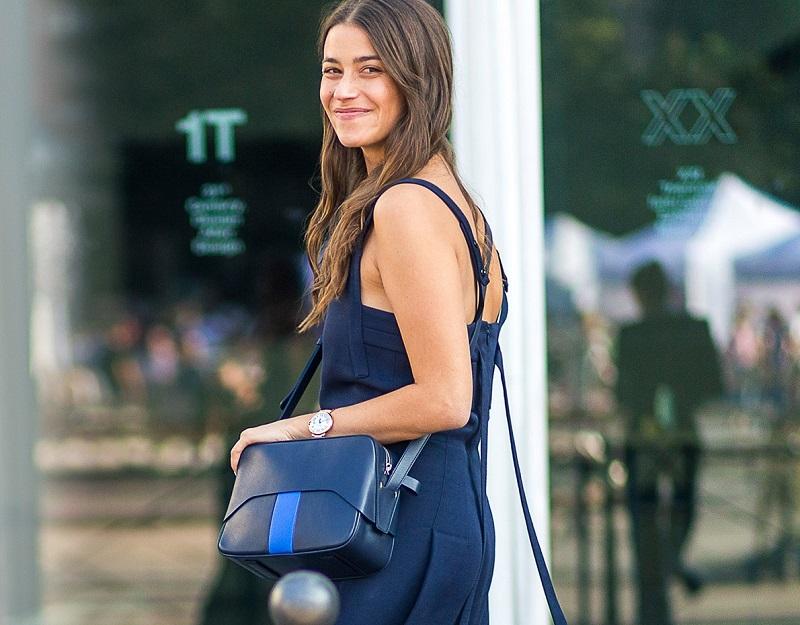 Tibi Garçon leather cross-body bag
