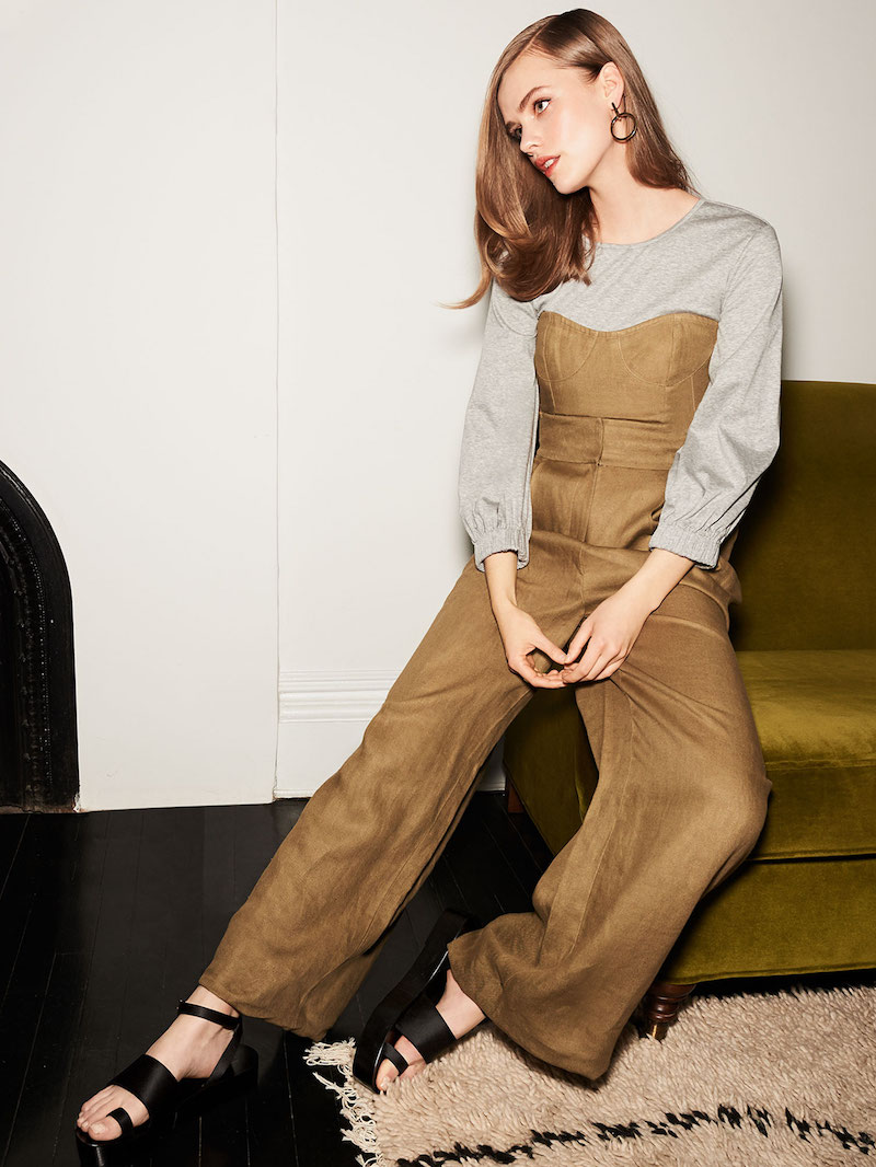 Tibi Hessian Pants