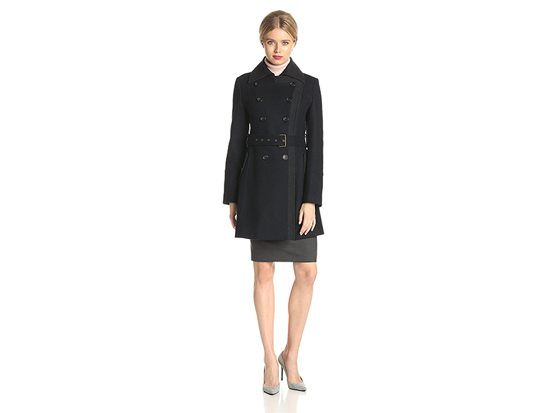 Tommy Hilfiger Wool Double-Breasted Coat
