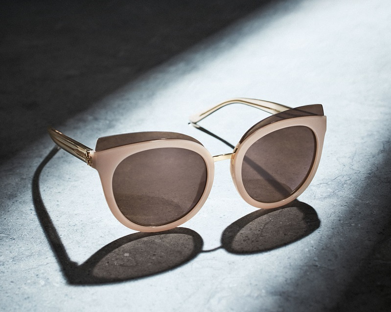 Tory Burch Monochromatic Cat-Eye Sunglasses