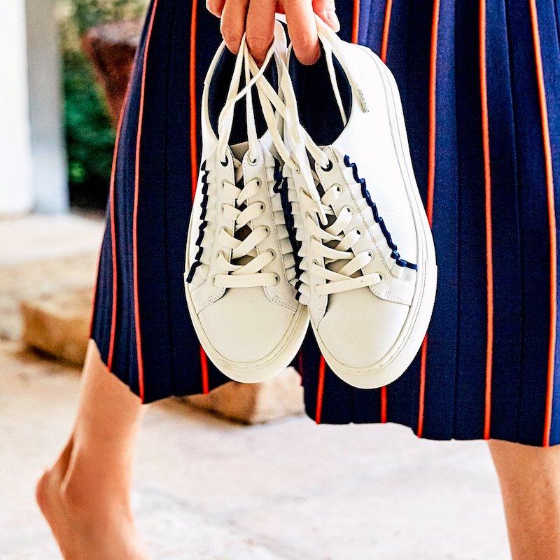 6cd688adfa28 Shoe of the Day    Tory Sport Ruffle Sneaker – NAWO