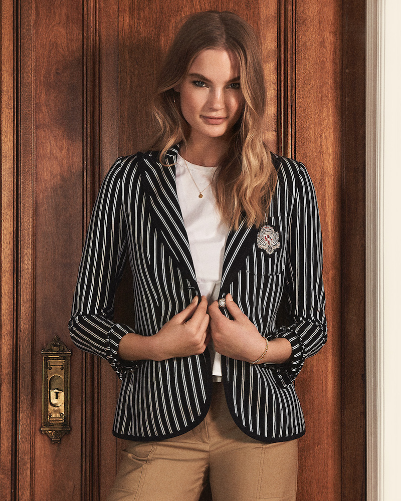 Veronica Beard Spirit Notched Collar Jacket