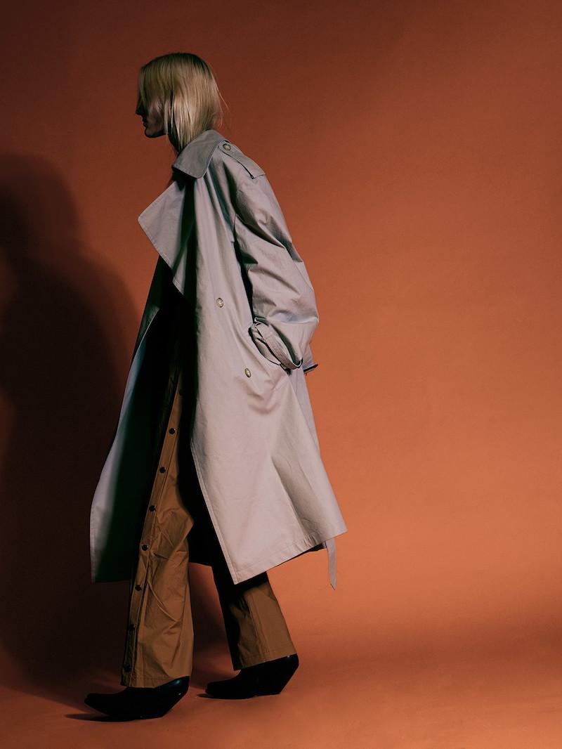 Vetements Grey Mackintosh Edition Oversized Trench Coat