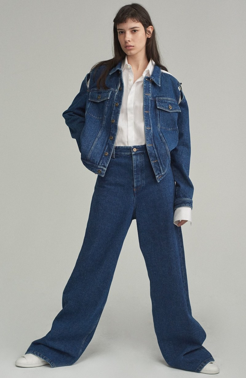Y/PROJECT Keyhole Jeans