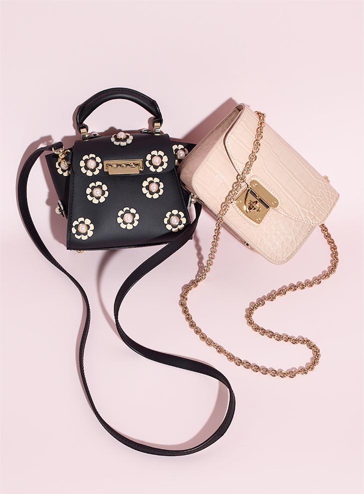 ZAC Zac Posen Eartha Iconic Top Handle Mini Handbag