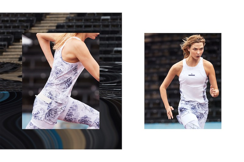 adidas by Stella McCartney SS17 Campaign feat. Karlie Kloss 2